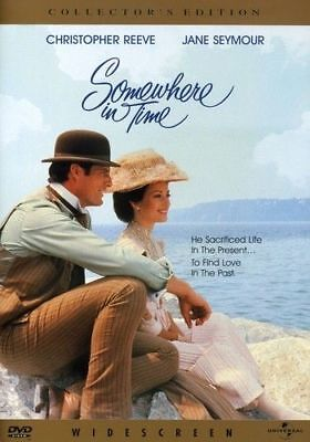 Somewhere in Time DVD-Christopher Reeve & Jane Seymour (New).