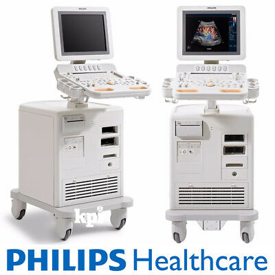 Cardiac HD7 Ultrasound System by Philips Healthcare with S4-2 Transducer