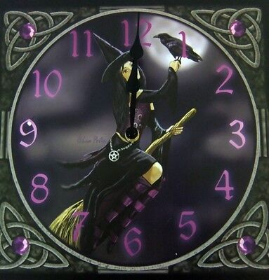 Lisa Parker Raven Witch clock witchy goth pagan wiccan