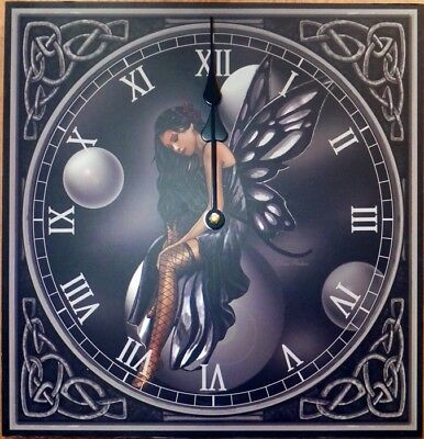 Lisa Parker Dark Fairy clock witchy goth pagan wiccan