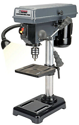 Central Machinery 62520 8 in. 5 Speed Bench Drill Press Power Tools Wood [Stor]