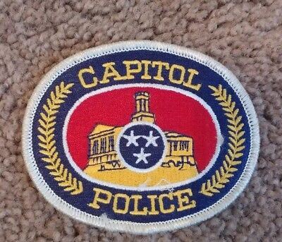 TENNESSEE CAPITOL POLICE SHOULDER PATCH TN Vintage