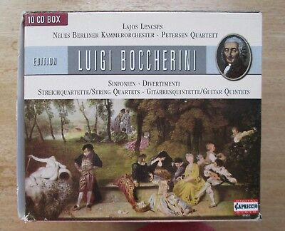 Capriccio 10CD Set [2005]~BOCCHERINI Edition: SYMPHONIES & CHAMBER MUSIC