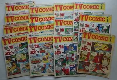 TV Comic #1007-1041 (1971) x 14 Most GD to VG/Fine (phil-comics)