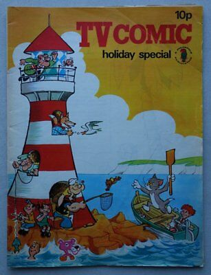 TV Comic Holiday Special comic 1971 VG (phil-comics)