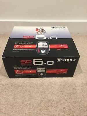Compex SP 6.0 Wireless Muscle Stimulator Brand New
