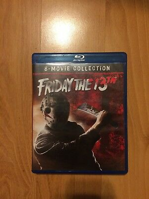 Friday The 13th 8 Film Blu Ray Collection Rare OOP Voorhees