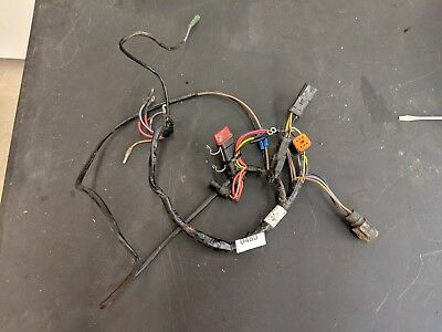 GOOD! 1996 50 HP Johnson Evinrude outboard wiring harness ... on johnson outboard manual, johnson outboard shifter, johnson outboard throttle cable, johnson outboard starter, johnson outboard fuel hose, johnson outboard engine paint, johnson outboard ignition coil, johnson outboard fuel lines, johnson outboard fuel pump kit, johnson outboard wiring diagram, johnson outboard wiring coil, johnson v4 90 hp outboard, johnson outboard mounting bracket, johnson outboard gauges, johnson outboard carburetor, johnson outboard rectifier, johnson outboard tach wiring, johnson outboard stator, johnson outboard fuel filter, johnson outboard control box,