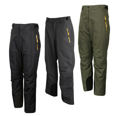 Insulated Windproof Winter Cargo Snow Ski Pants Detachable Velvet Linings