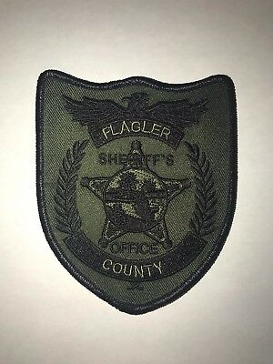 Flagler County Sheriff's Office subdued patch