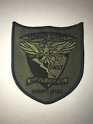 Flagler County Sheriff's Office subdued SWAT patch