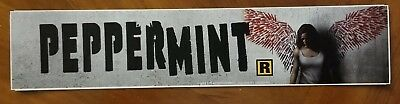 PEPPERMINT 2018 - Movie Theater Mylar Free Shipping