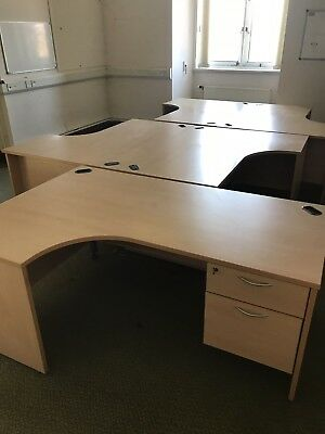 Office Desks , Chairs and Cupboards