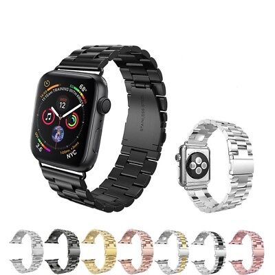 Replacement For Apple Watch Series 3 2 4 Bracelet Strap Metal Band 38mm 42mm