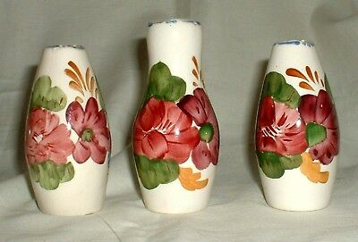 ONE BELLE FIORE PEPPER POT 1940s CHANTICLEER WARE SIMPSONS THREE AVAILABLE