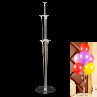 Lot Plastic Balloon Holder Support Sticks Cup Wedding Party-Keep Ballon Up New