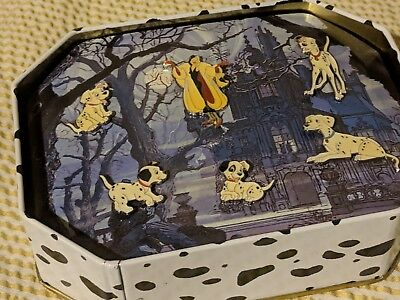 101 Dalmations Complete Commemorative Disney Pin Set in Tin