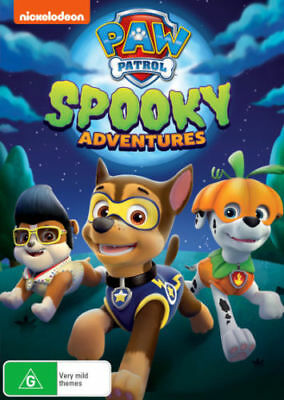 Paw Patrol: Spooky Adventures = NEW DVD R4