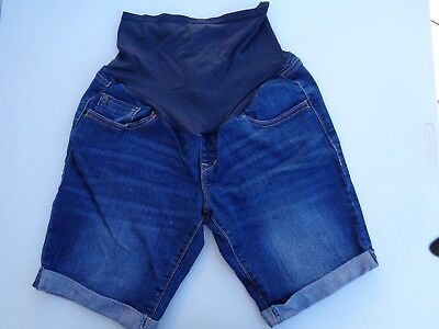 Old Navy Pretty Mama Matherhood Maternity Shorts SZ 6 Jeans Stretch Excellent