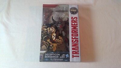 Transformers Premier Edition Deluxe Class The Last Knight Decepticon Berserker