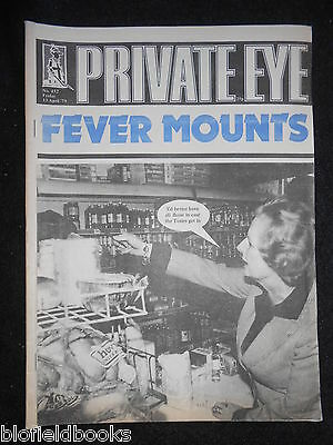 PRIVATE EYE - Vintage Satirical Political Humour Magazine - 13th April 1979
