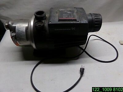 Grundfos MQ 3-45 1HP, 110-120V Booster Pump - USED