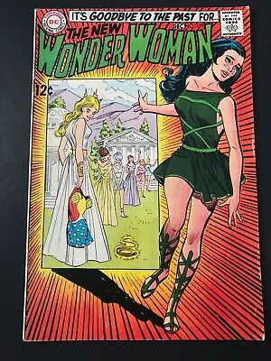 The New Wonder Woman Dc Comics #179 Dec 1968 Vf