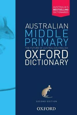NEW Australian Middle Primary Oxford Dictionary By Amanda Laugesen Paperback