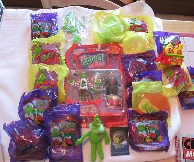 The Grinch Who Stole Christmas Wendy's Promotional Toys