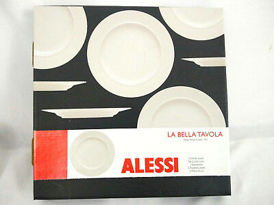 Alessi La Bella Tavola Soup Bowls 1110302 Porcelain Brand New In Box