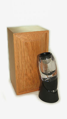 Wine Aerator in Timber Wooden Box Includes Stand  GIFT  Aerates wine to taste