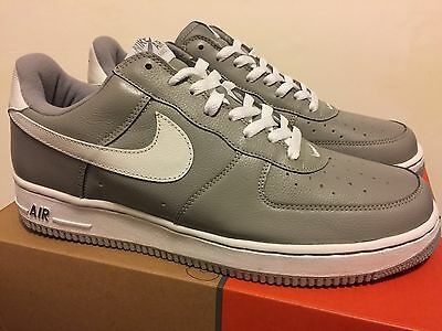 new arrival 2ba18 46c77 Nike Air Force 1 Low Med Grey   White Size 12 Leather DS NEW KITH