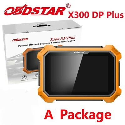OBDSTAR X300 DP Plus OBD2 Diagnostic Tool A Package Immobilizer+Special Function