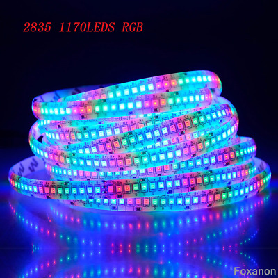5M SMD 600 LED 3014 3528 5050 5630 8520 Waterproof Flexible Strip Light White DC
