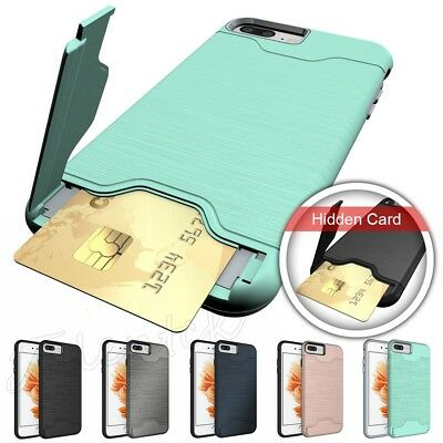 For iPhone XS Max XR X 6S 7 8 Plus Hard Case Shockproof Slim Rugged Back Cover