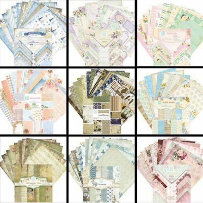 Paper Craft Pads Cutting Dies Card Making Origami Scrapbooking Art Background