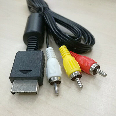 AV To RCA Cable For PlayStation PS2 PS3