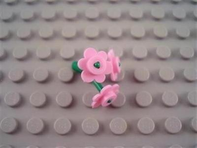 *NEW* LEGO 12 Pink Flowers with 16 Stems