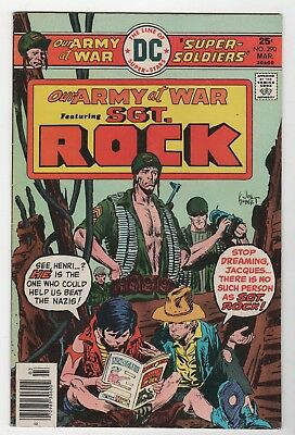 Our Army At War #290 In Very Fine+ Condition (March, 1976, DC)