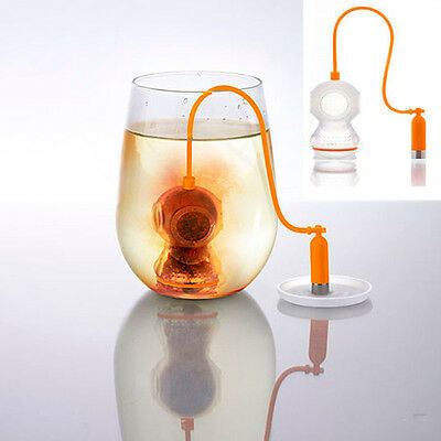 Hot Deep Tea Diver Infuser Loose Leaf Strainer Bag Mug Filter Friends Applied