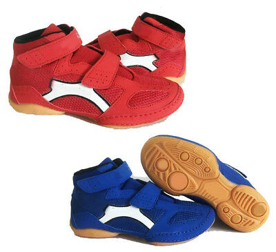 Kids Boxing MMA Wrestling Boots Childrens Martial Arts Trainers Sports Shoes