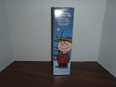 Peanuts Charlie Brown Christmas 18 '' Tree with Linus Blanket Product Works