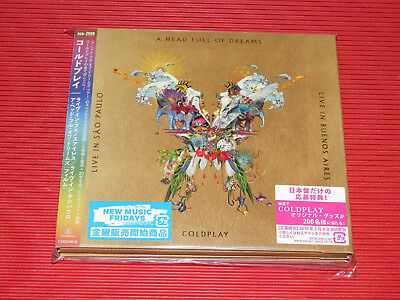 2018 Coldplay Live In Buenos Aires Live In Sao Paulo Japan 2 Cd + 2Dvd Edition