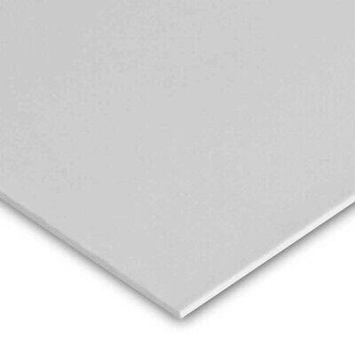 """2 PACK 1//4/"""" 6mm Gray Polycarbonate PVC Type 1 Sheet 8x12/"""" AZM Clearance"""