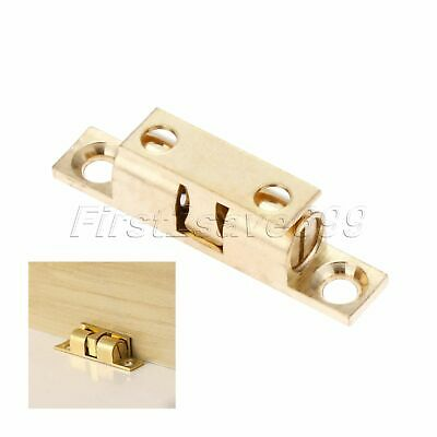 Dual Ball Touch Cupboard Drawer Roller Cabinet Door Latch Catches Hardware 42mm