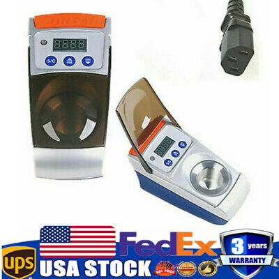 60W Dental Lab Digital Wax Pot Analog Melting Dipping Heater Melter ONE-Well