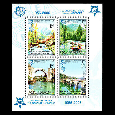 Bosnia 2005 - 50th Anniversary of the First EUROPA Stamps - Sc 260aMNH
