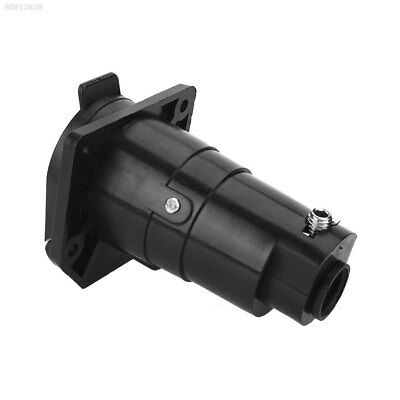 B425 7Poles Round RV Trailer Male Female Plug Connector Replacement 7Pin US Plug