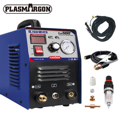 CUT50 Air Plasma Cutter Machine 50A Inverter DIGITAL 230V Cutting 1-12mm