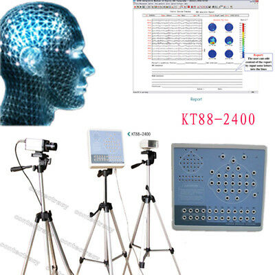 24 Channels Digital EEG And Mapping System KT88-2400+Free tripod,software,CONTEC
